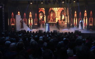 Comédie musicale In Via à Angers (sonorisation & lumières)