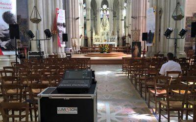 Concert de Grégory Turpin à Montligeon avec Lumisson !