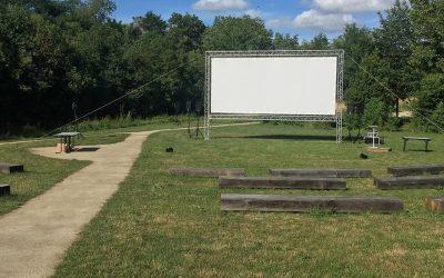 Cinéma de plein air à la Chapelle Basse Mer