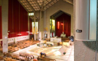 Une nouvelle sonorisation pour l'église Sainte-Madeleine
